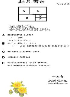 お品書き 仕出し弁当2015.1.9.png
