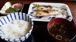 鮎塩焼き定食2014.6.18_k.jpg